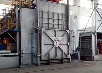 Furnace for Aluminum Homogenizing, using Electric Heater
